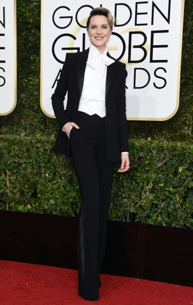 Evan Rachel Wood at the Globes