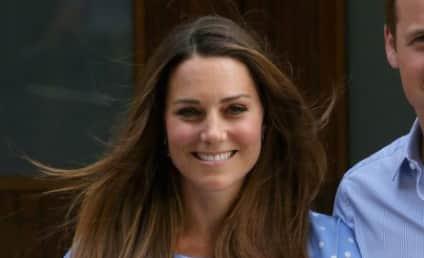 Kate Middleton: Breastfeeding Prince George!