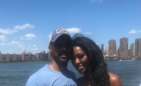 """Kenya Moore and Marc Daly for """"Bae Day"""""""