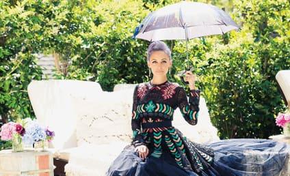 Nicole Richie Flaunts Purple Hair, Perfect Life in Paper Magazine