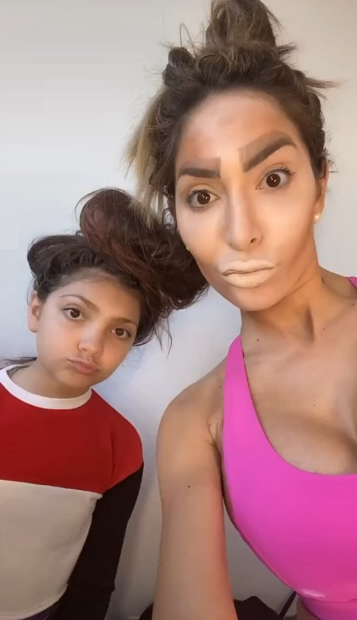 Farrah Abrahams daughter knows too much about her moms