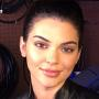 Kendall Jenner Lips Close-Up Photo