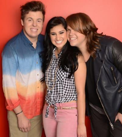 Jena, Caleb and Alex