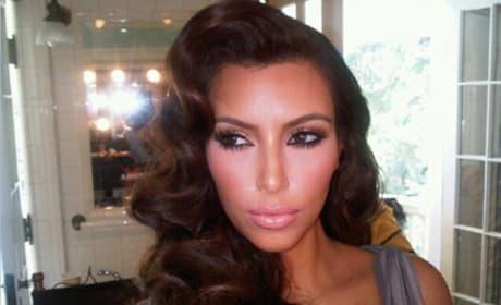 Do you like Kim Kardashian's retro look?