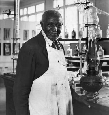 George Washington Carver Invented Peanut Butter