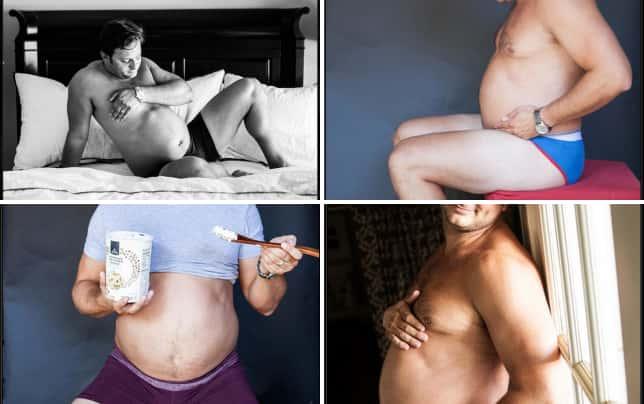 Husband pregnancy photos lol black white and beautiful