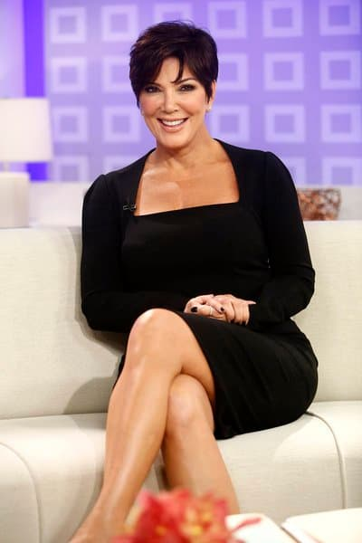 Kris Jenner on Today Set