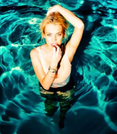 Lindsay Lohan Bites