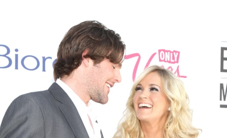 Mike Fisher with Carrie Underwood