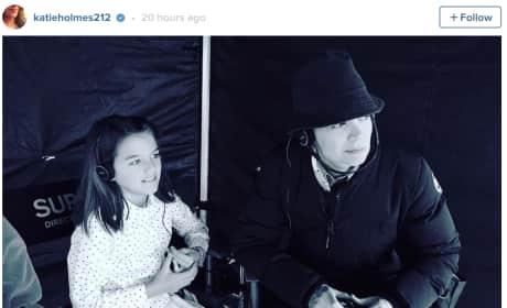 Katie Holmes Shares Instagram of Suri Cruise