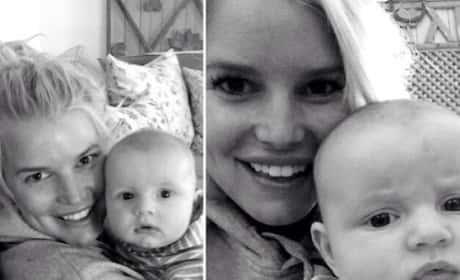 Jessica Simpson Baby Pics