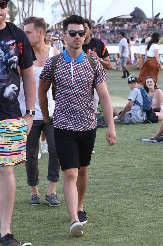 Joe Jonas at Coachella