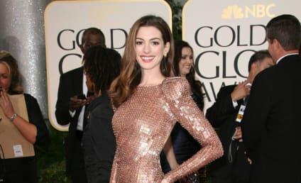 Golden Globe Fashion Face-Off: Anne Hathaway vs. Angelina Jolie