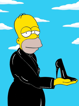 Sexy Homer Simpson