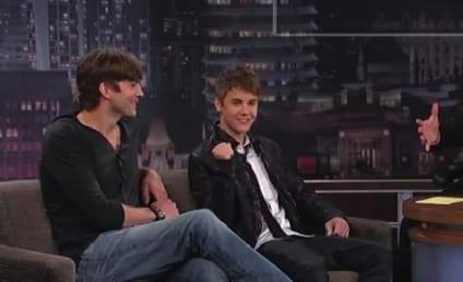 Justin Bieber and Ashton Kutcher Talk Punk'd, Sex in Space on Jimmy Kimmel Live