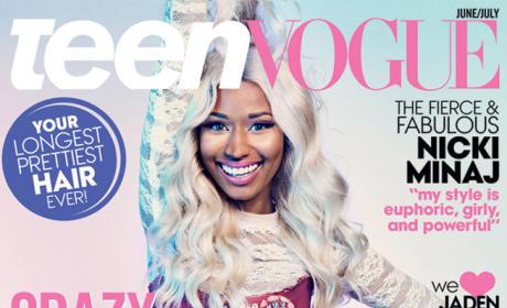 Nicki Minaj Teen Vogue Cover