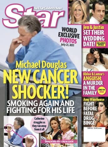 Michael Douglas Cancer Shocker!