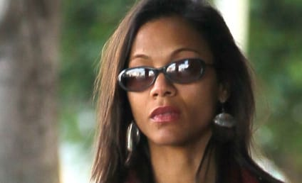 Zoe Saldana Rescues Elderly Woman After Crash