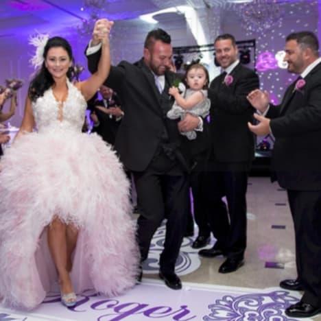 JWoww Wedding Photo