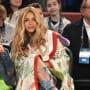 Beyonce Courtside