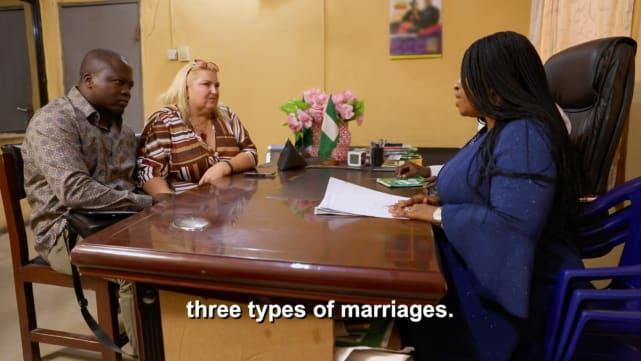 Hay tres tipos de matrimonio