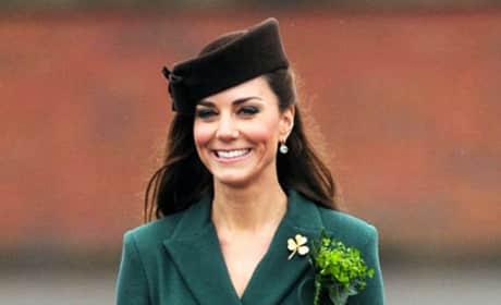 Kate Middleton in Green