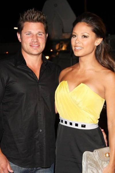 Nick Lachey and Vanessa Minnillo Photo