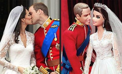 Prince William & Kate Middleton as Ken & Barbie: First Look!