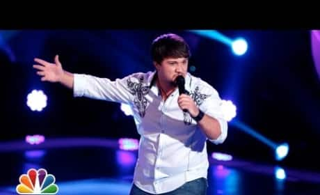 Justin Blake - Sure Be Cool If You Did (The Voice Blind Audition)