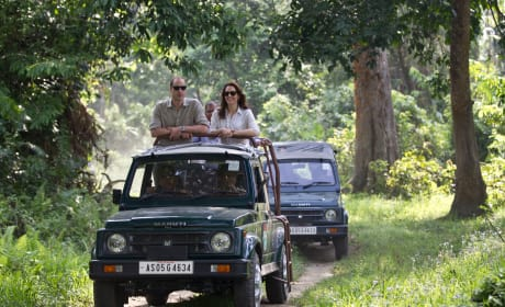 William and Kate Go On Safari
