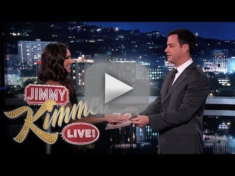 Andi Dorfman on Jimmy Kimmel Live - Sworn In