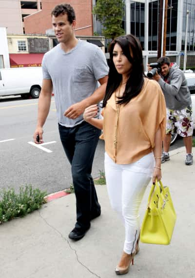 A Kim Kardashian and Kris Humphries Pic