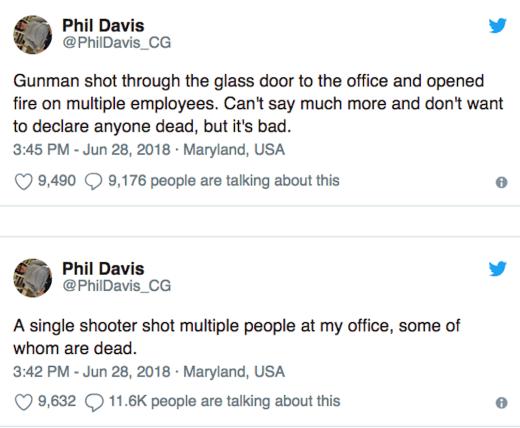 davis tweets