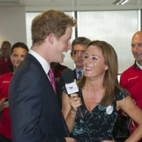 Natalie Pinkham and Prince Harry