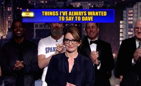 David Letterman Unveils Final Top 10 List