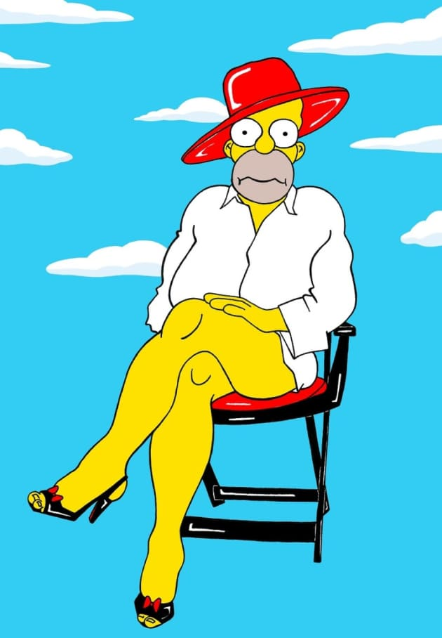 Homer Simpson: NO Pants!