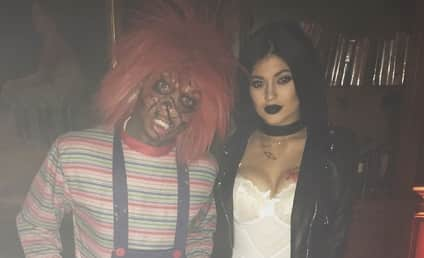 Kylie Jenner Boob Job Rumors Erupt Thanks to Racy Halloween Pic: Did She or Didn't She!?