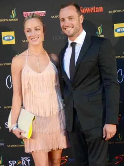 Reeva Steenkamp and Oscar Pistorius