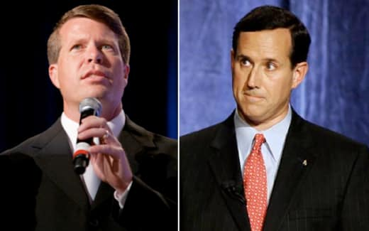 Duggar and Santorum