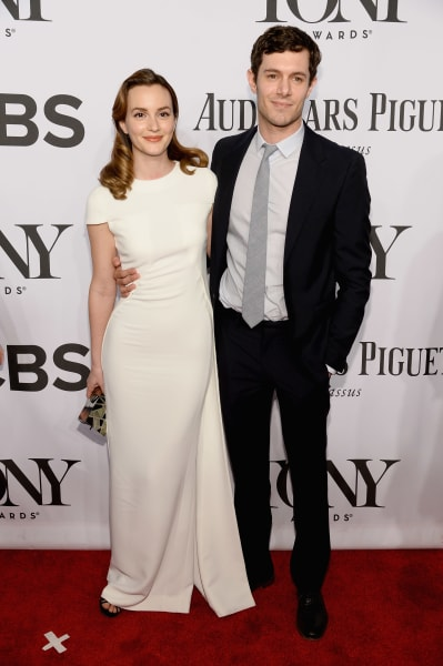 Leighton Meester and Adam Brody in 2014