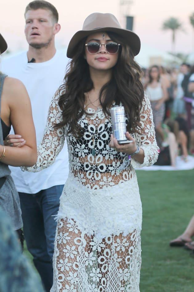 Selena Gomez at Coachella