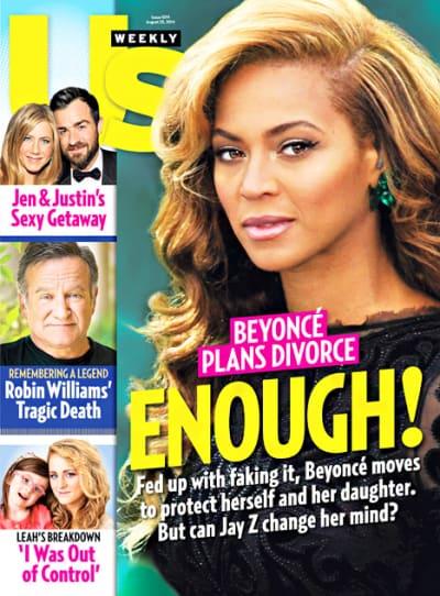 Beyonce Plans Divorce