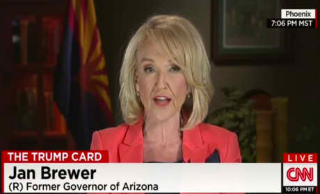 Jan Brewer on Donald Trump: He's Right About Mexicans!