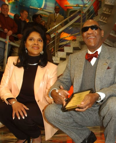 Bill Cosby and Phylicia Rashad Pic