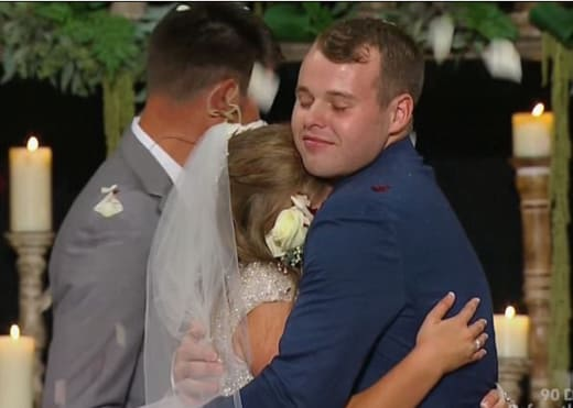 Joe and Kendra Embrace
