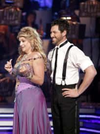 Kirstie Alley and Maks