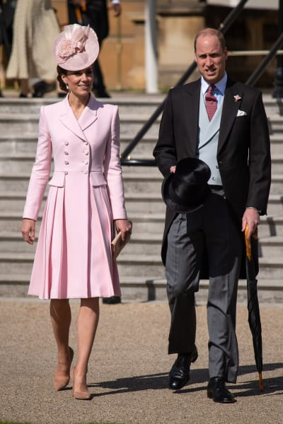 Prince William and Kate Middleton Get Fancy