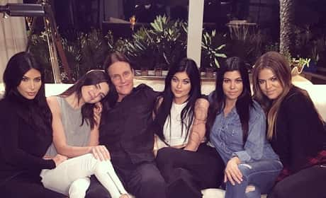 Bruce Jenner and Daughters