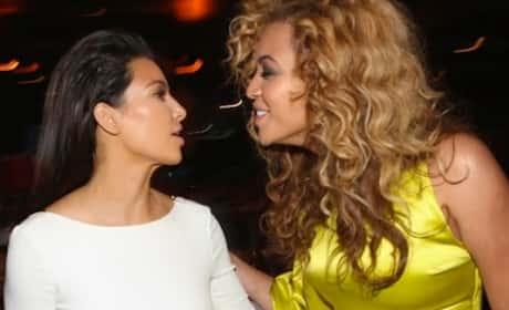 Beyonce Snubs Kim Kardashian