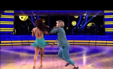 Charlie White & Sharna Burgess - Jive - Week 3